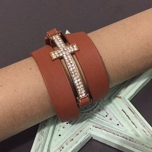 Jewelry - Cross Wrap Bracelet